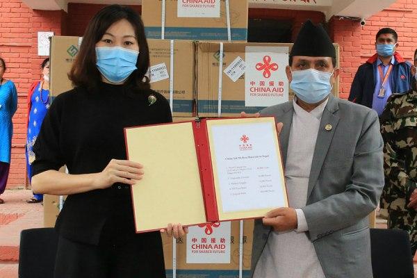 चीनले नेपाललाई दियो ४० हजार थान पिसिआर किट