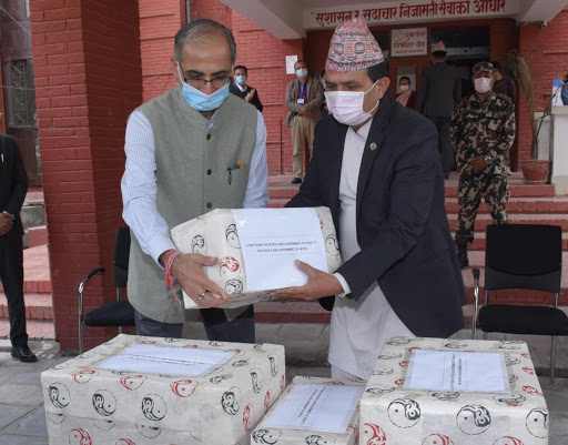 India donates 23 tonnes of essential medicines to Nepal to fight Covid-19