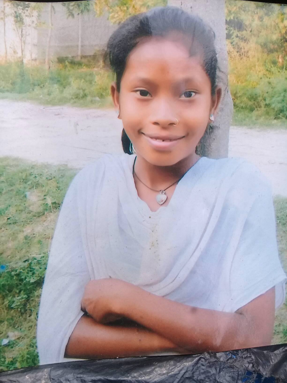 A recent photograph of Pramila Tharu. Credit: Courtesy of the family.