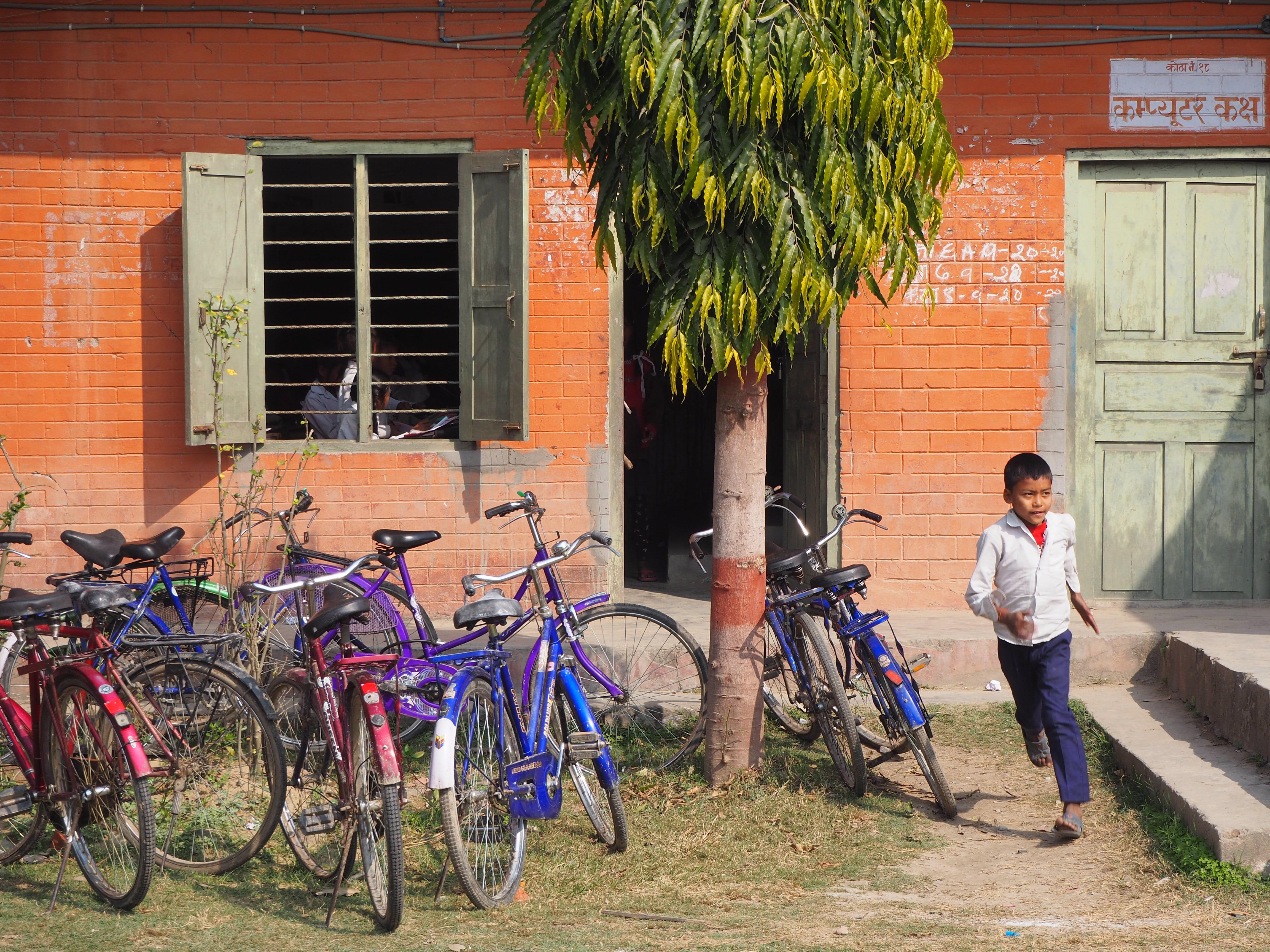 Amar Shahid Shri Dasrath Chand School, where Pramila Tharu studied. Credit: Peter Gill