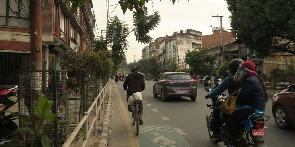 How urban design and planning failed cycling in Kathmandu