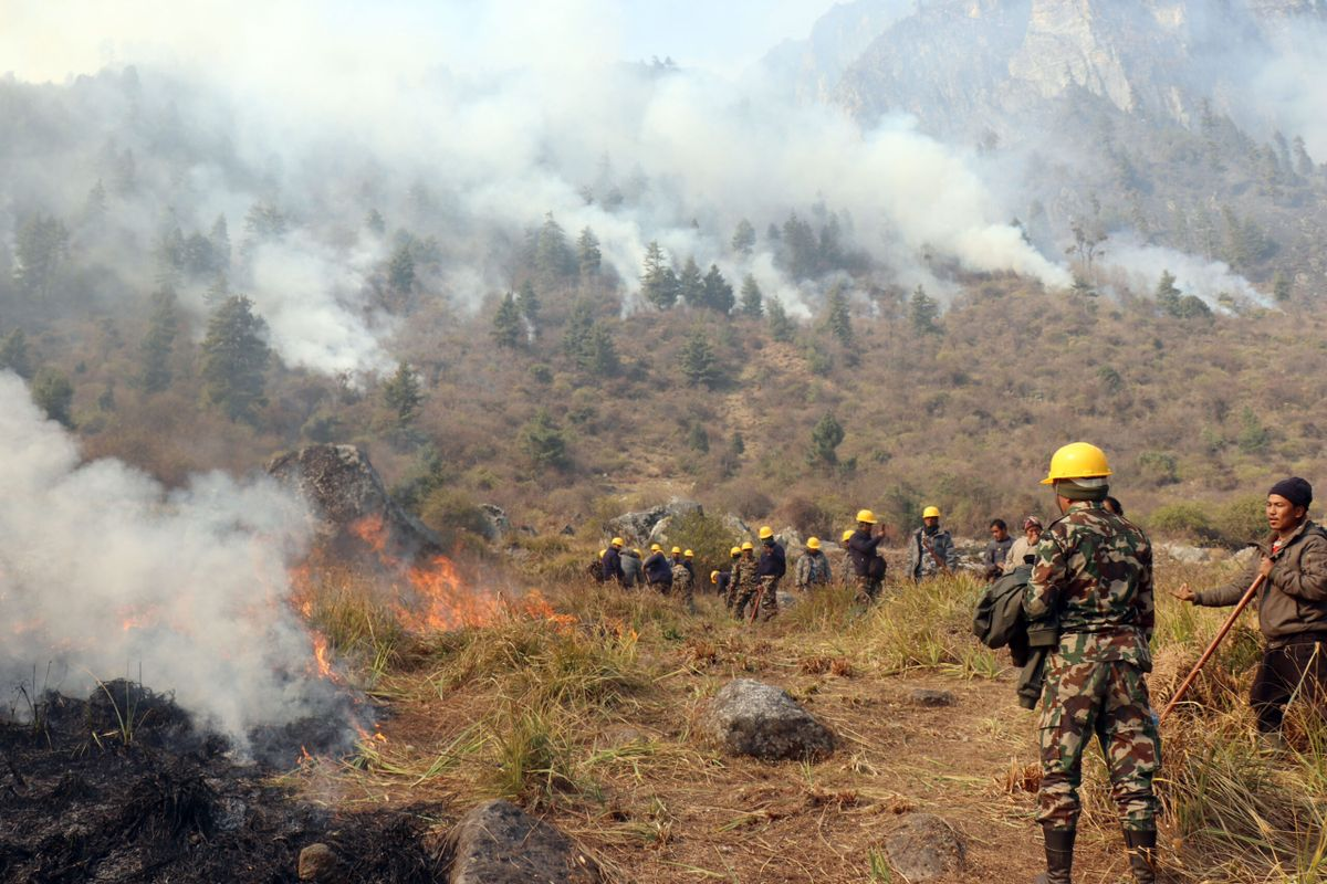 In 2021, Nepal battled its worst forest fires in years. And for those living on the frontlines of such disasters, climate threat is an existential one.