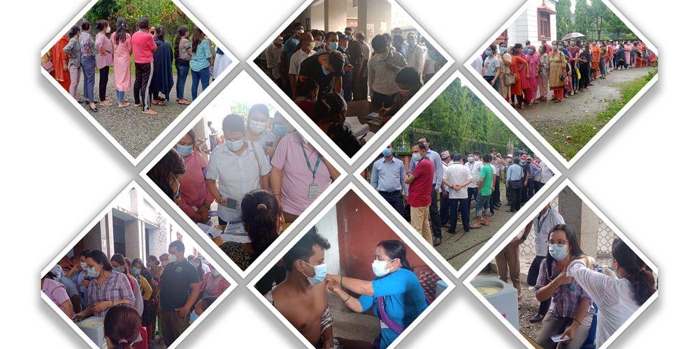 Biratnagar's vaccination drive mirrors Kathmandu's chaos