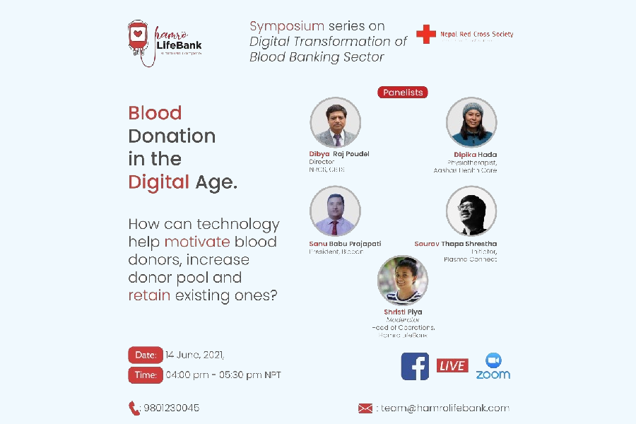 Symposium series on Blood Donation in the Digital Age