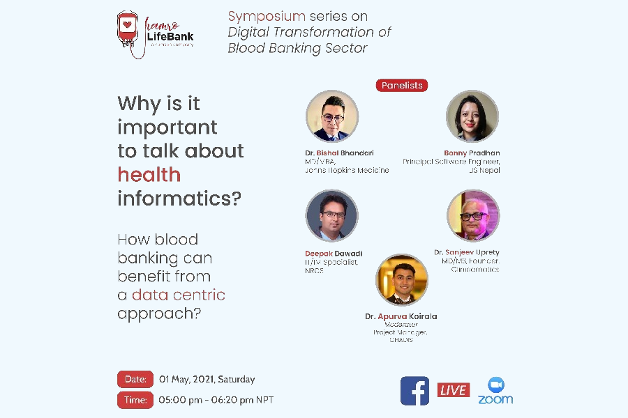 Symposium series on Digital Transformation of Blood Banking Sector