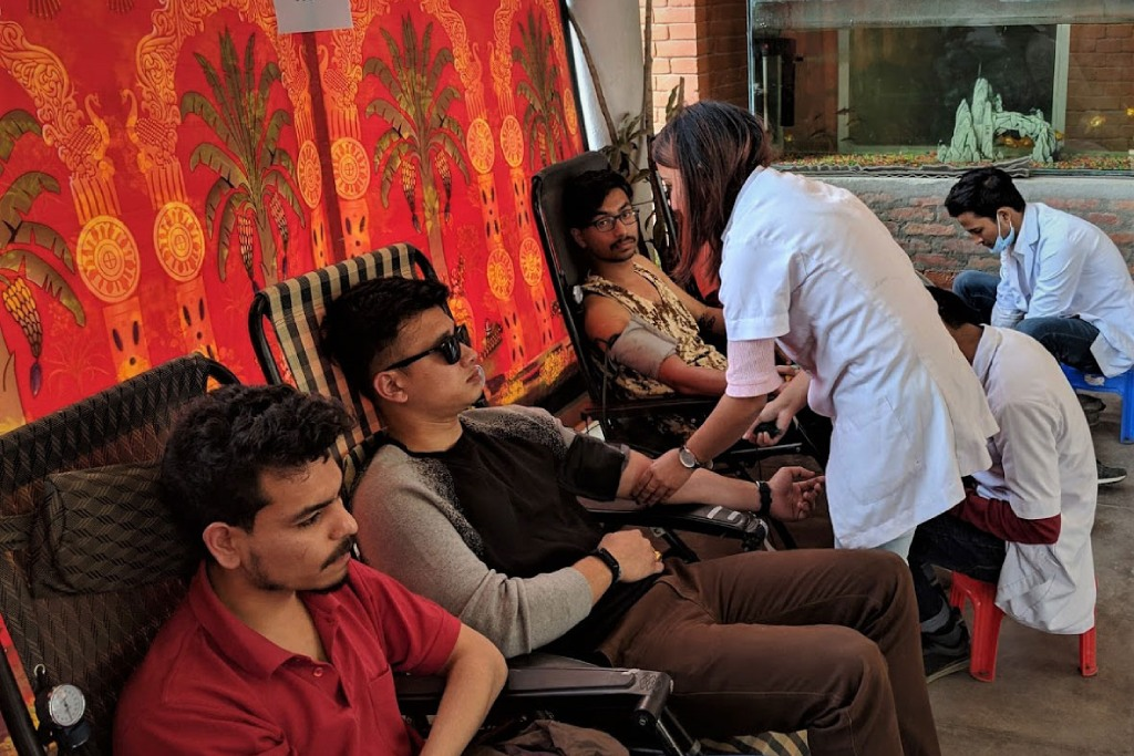CAMPION COLLEGE: BLOOD DONATION EVENT