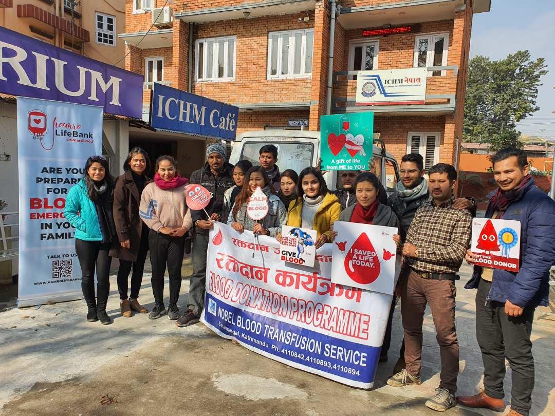 ICHM Nepal Blood Drive