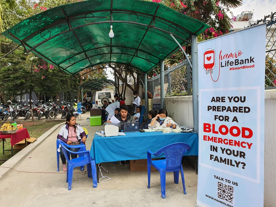 LEAPFROG : SMART BLOOD DRIVE